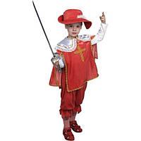"""Детский карнавальный костюм """"Мушкетёр красный"""" (21221-1)"""