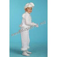 """Детский карнавальный костюм """"Зайчик белый"""" (11017-1)"""