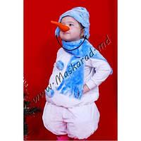 """Детский карнавальный костюм """"Снеговик"""" (23237)"""