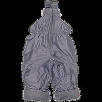 Детский осенний,зимний, весенний полукомбинезон (штаны на шлейках) на холлофайбере, ТМ Ромашка, р. 98,104, 110