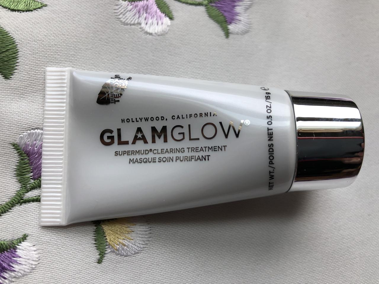 Очищающая маска для лица GLAMGLOW SUPERMUD Activated Charcoal Treatment