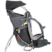 Рюкзак для переноски ребенка в походе Kid Confort Plus Deuter темно-серый