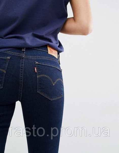 6c74b77d048 Женские джинсы Levis bold curve straight W25L32 синие оригинал из США -  интернет-магазин «