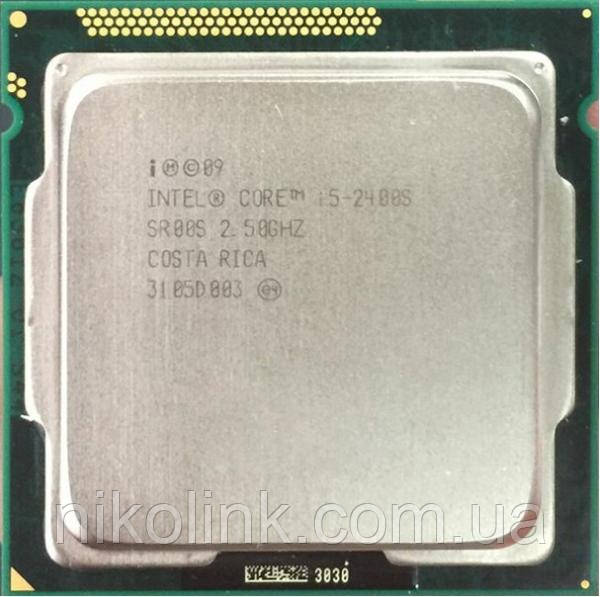 Процессор Intel Core i5-2400S 2.50GHz(3.30)/5GT/s/6MB (BX80623I52400S) s1155 Tray  комиссионный товар