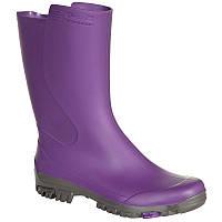 Резиновые сапоги Inverness 100 Solognac женские, фиолетовые