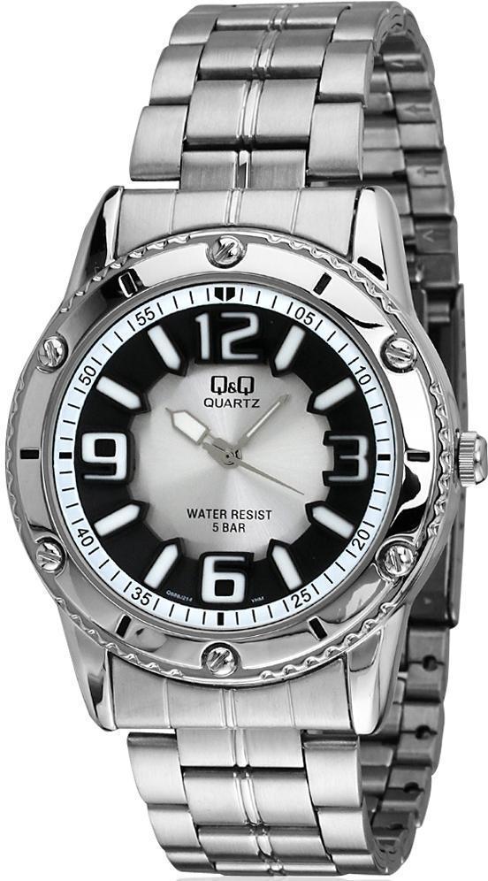 b6c82061 Наручные мужские часы Q&Q Q686J214Y оригинал: купить по низкой цене ...