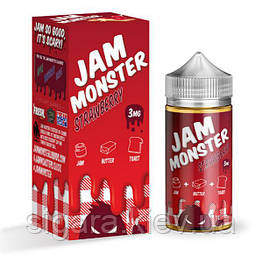 Жидкость Jam Monster Strawberry 100 мл