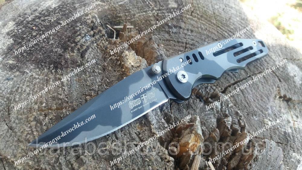 Ніж складаний Swat black camo Військовий якісний складаний ножик. Оригінальні фото