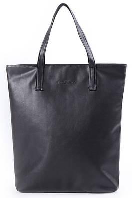 Стильная женская сумка из кожзаменителя POOLPARTY арт. poolparty-tulip-black