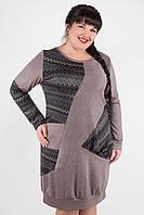 Стильное повседневное женское платье  442