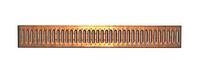 Решетка водоприемная РВ -10.13,6.100- штампованная медная