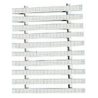 Netta Переливная решетка Netta Classic с двойным соединением 245x25 мм (белая)