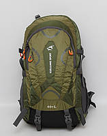 Чоловічий рюкзак з металевим каркасом + дощовик / Мужской рюкзак металлическим каркасом + дождевик