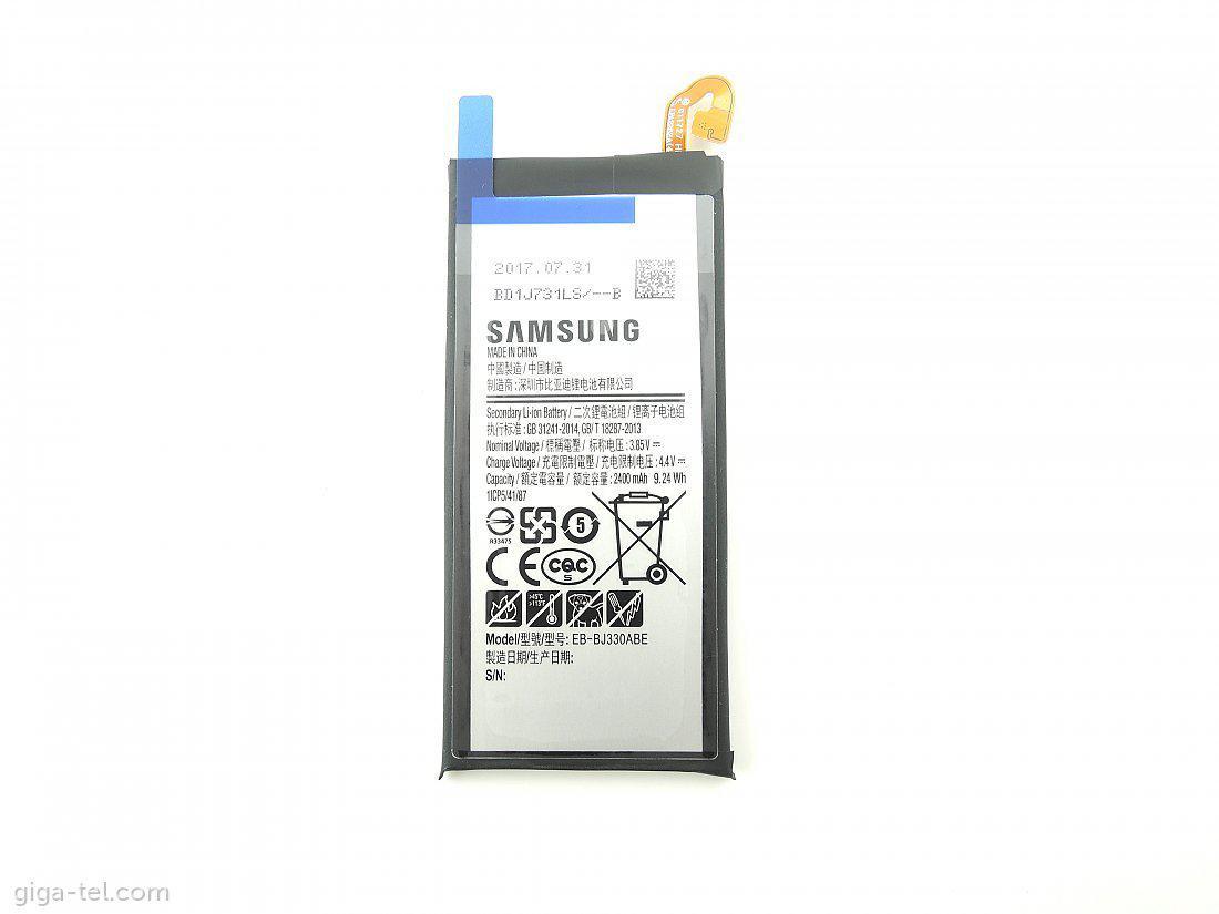 Акумуляторна батарея EB-BJ330ABE для мобільного телефону Samsung J330F Galaxy J3 (2017)