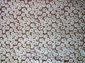 Плед из бамбукового волокна Wellsoft Мелкие бежевые цветы (200х220)