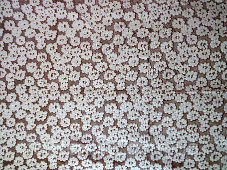 Плед из бамбукового волокна Wellsoft Мелкие бежевые цветы (200х220), фото 2