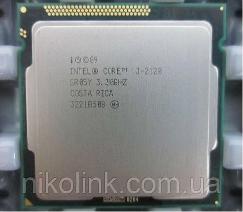 Процессор Intel Core i3-2120 3.3GHz/5GT/s/3MB (BX80623I32120) s1155 Tray комиссионный товар