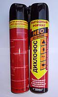 Дихлофос нео без запаха 600 мл от ползающих и летающих насекомых