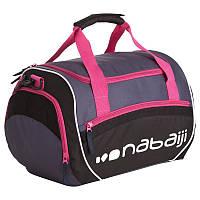 Сумка для плавания 30л Nabaiji розово-черный