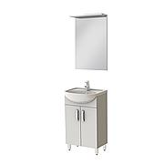 Мини-комплект мебели для ванной комнаты Тренто 50 Ювента