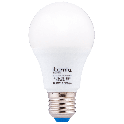 Светодиодная лампа Ilumia диммер 3-5-10Вт, цоколь Е27, 3000К (теплый белый), 1000Лм (063), фото 2