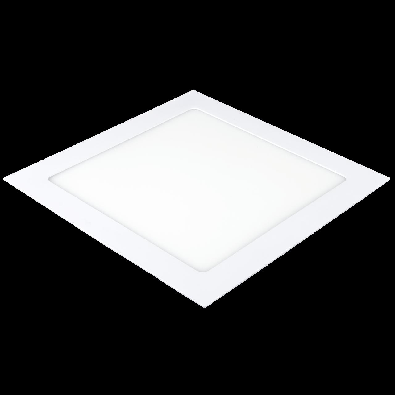 Светодиодный встраиваемый светильник Ilumia 18Вт, 220мм, 4000К (нейтральный белый), 1400Лм (033)
