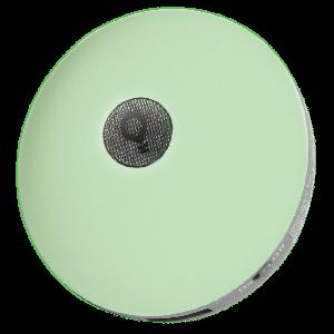 Светодиодоный ночник-зарядка для смартфона Ilumia EOS зеленый 2хUSB2.0  2.1А (065)