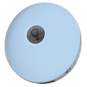 Светодиодоный ночник-зарядка для смартфона Ilumia EOS голубой 2хUSB2.0 2.1А (066)