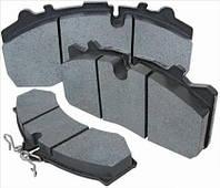 Дисковые тормозные колодки SAF с монтажным комплектом SAF