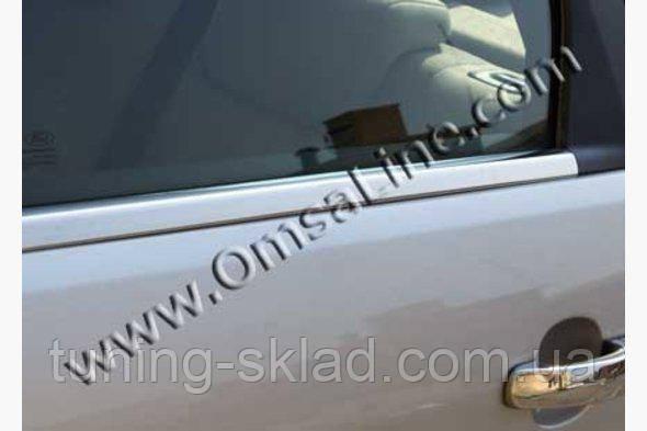 Хром Нижняя окантовка стекол  Ford Mondeo 2014+  (Форд Мондео)