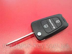 Заготовка выкидного ключа HYUNDAI Elantra, 233#