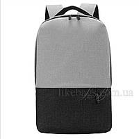 Легкий городской рюкзак Shaolong + USB, фото 1