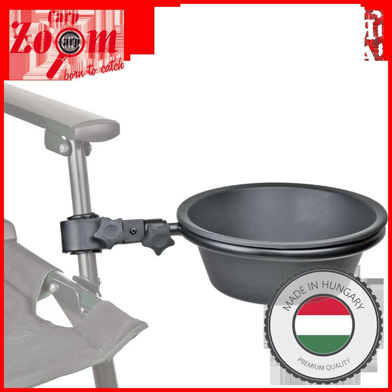 """Крепление для кресла """"чаша для прикормки"""" Carp Zoom Bowl with Arm CZ3637"""