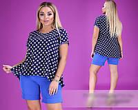Костюм летний с шортами, с 48-54 размер, фото 1