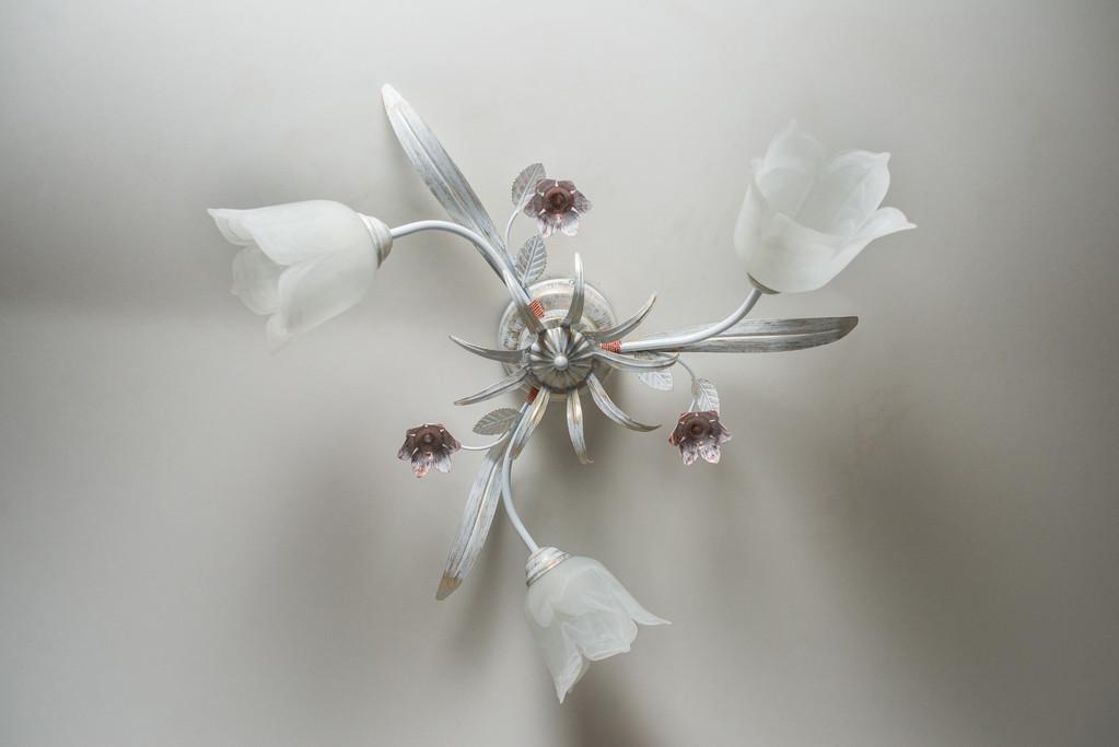 Люстра потолочная флористика Мария 5203