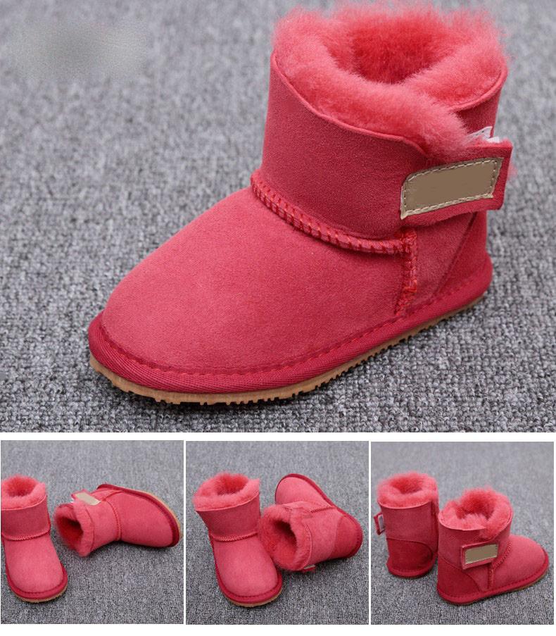 UGG Australia Kid's замшевые красные 11,5см-16см