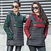 Женская куртка-анорак Белуччи