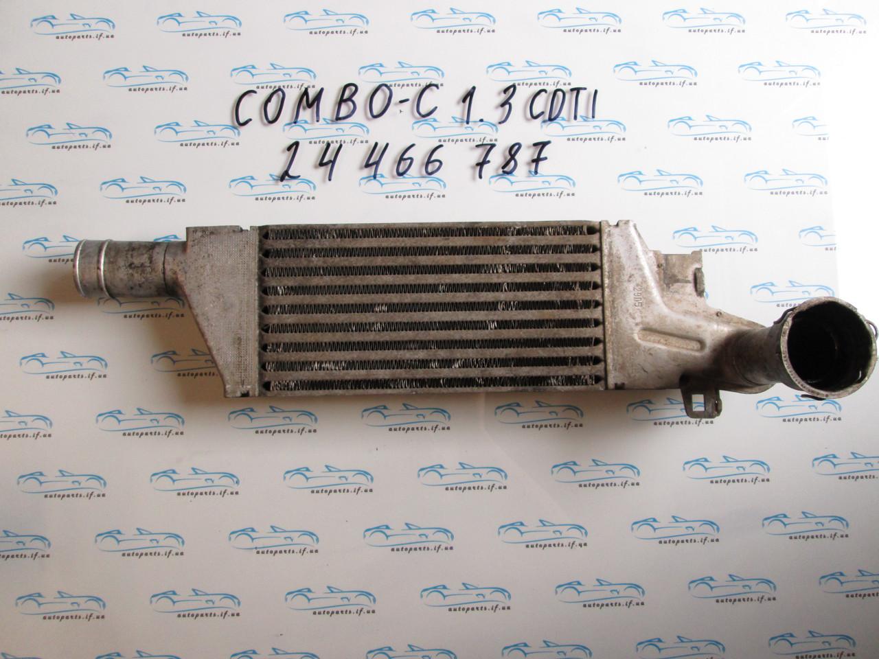 Радиатор интеркулера Корса, Combo 1.3CDTI 24466787