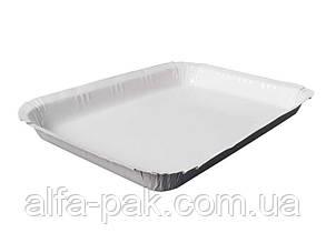 Тарелка бумажная глубокая ламинированная 220х140