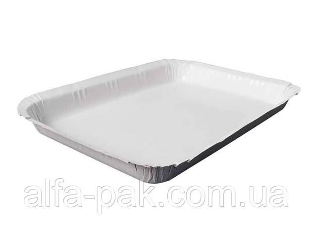 Тарелка бумажная глубокая ламинированная 220х140 , фото 2