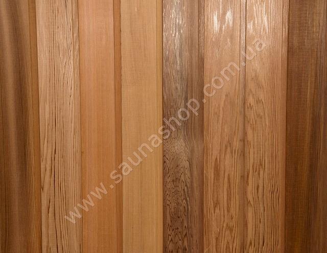 Вагонка канадський кедр для саун і лазень вищий сорт11*94(88)
