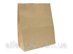 Пакет бумажный на вынос большой 400*350*140