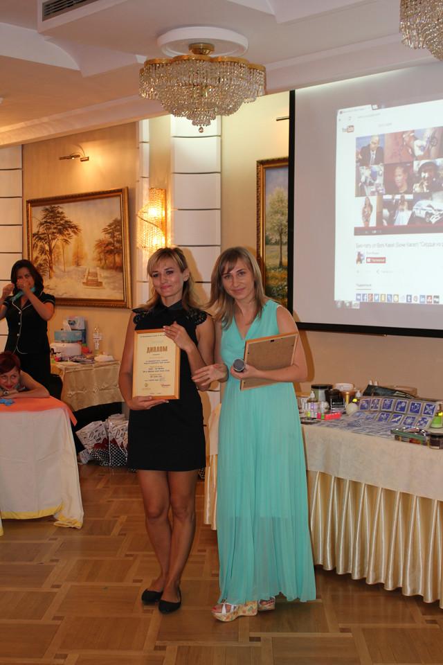 Дарья Горошенко (Sweet Epil Молдова) иЯна Осадчая ( Sweet Epil Украина)