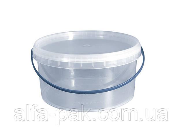 Пластиковые ведра с крышкой 3 л., фото 2