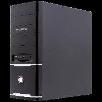 LogicPower LP 0055 + Блок питания ATX 400W 8см - корпус компьютерный