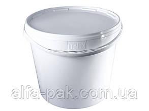 Пластиковое ведро 20 литров с крышкой