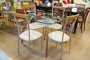 Стол обеденный стекло S -  B 2016C Exm, фото 2