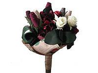 Букет из носков и цветов Праздничный