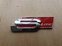 Audi S-LINE  на багажник красная