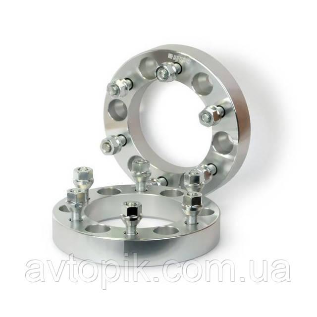 Автомобильное расширительное кольцо (Spacer) H = 30 мм. Футорка M12x1,25 PCD6*139,7 DIA110,1